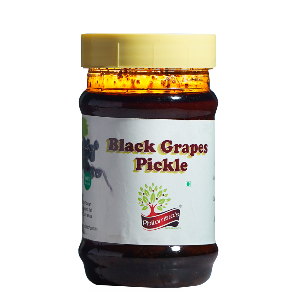 Black Grape Pickle 300gm Tin