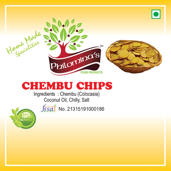 Chembu Chips - 100gm