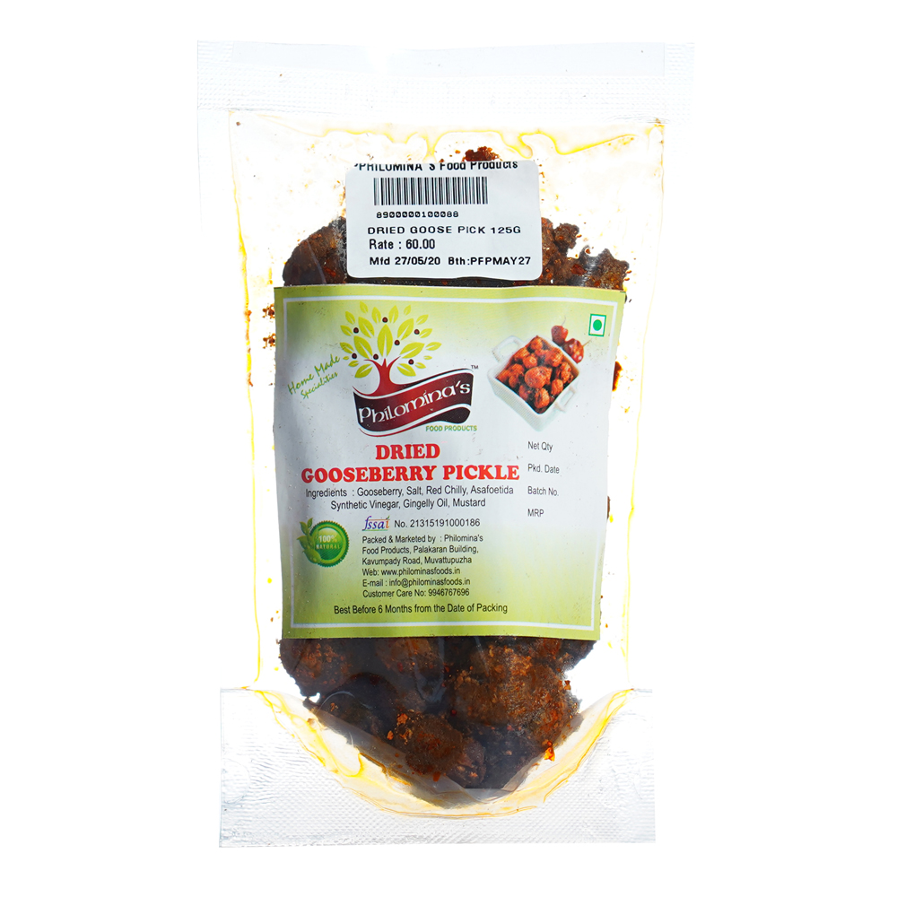 Dried Goosebbery Pickle - 125gm