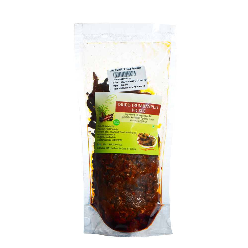 Dried Irumpan Puli Pickle 250gm