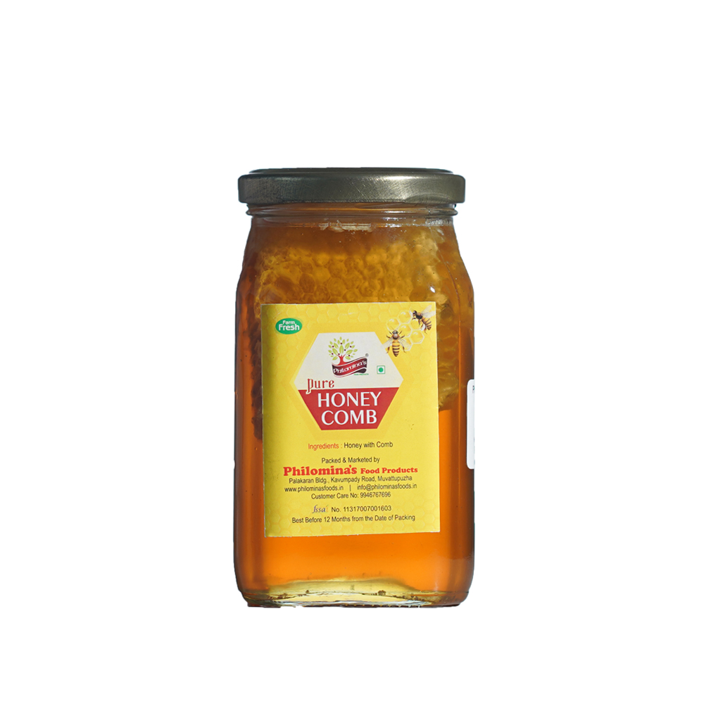 Honey with comb - 500gm
