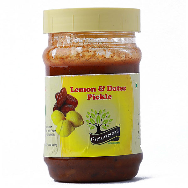 Lemon and Dates Pickle Pouch - 500gm