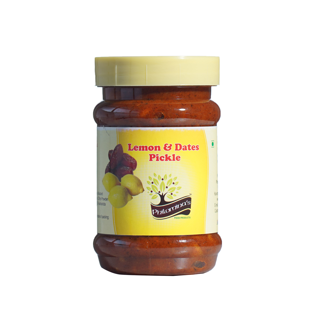 Lemon and Dates Pickle Bottle 300gm