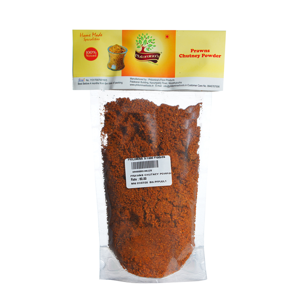 Prawns Chutney Powder - 100gm