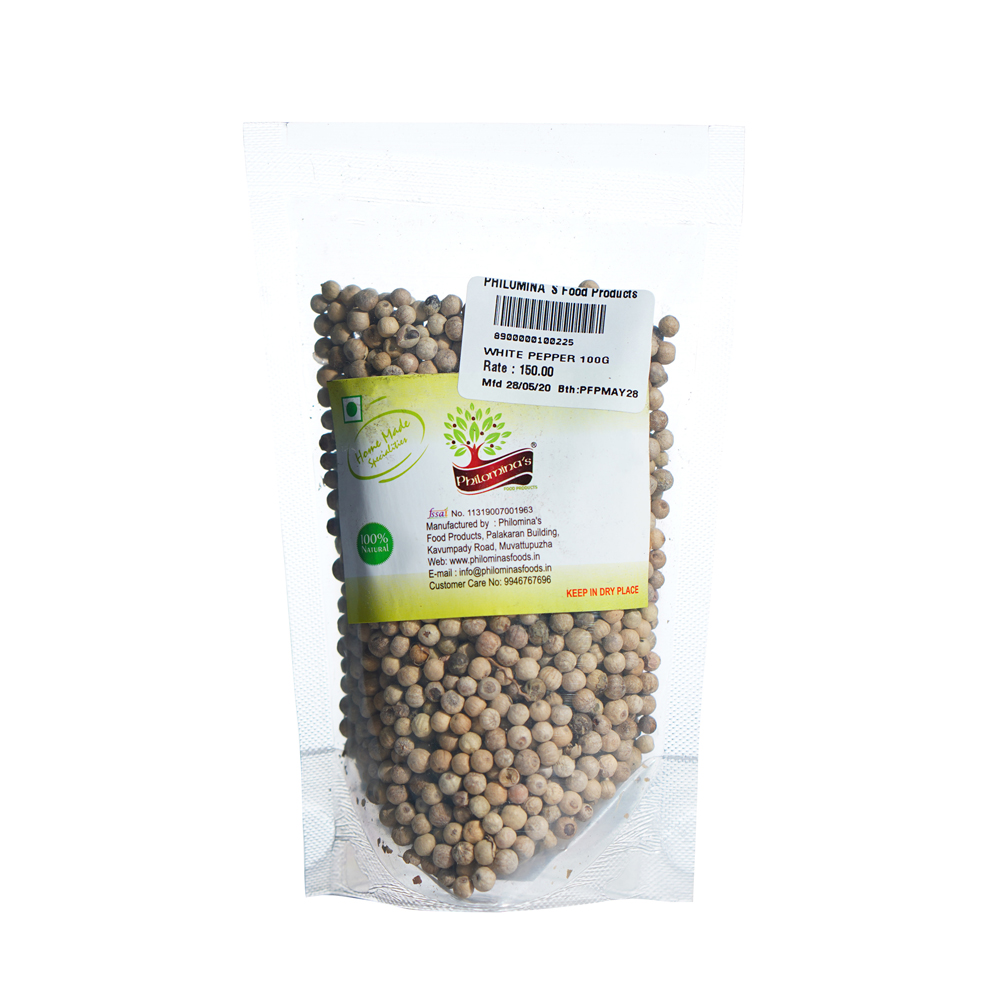 White Pepper - 100gm